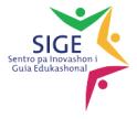 Logo SIGE Sentro pa Inovashon i Guia Edukashonal – Ku bon guia bo ta bria